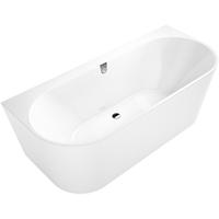 Villeroy & Boch Oberon 2.0 bad 180x80 cm. met paneel in wit wit-wit