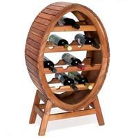 Monzana Stijlvol - wijnrek - voor - 12 - flessen