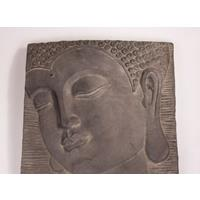 Stone-lite Wandboeddha 51x51