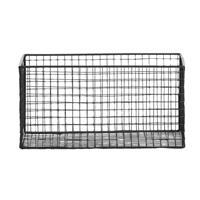 Leen Bakker Mand Brisbane - zwart - 28,5x18,5x14,5 cm