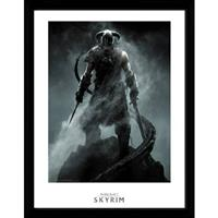 GB Eye poster in lijst Skyrim Dragon born 30 x 40 cm