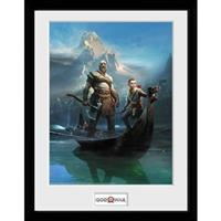 GB Eye poster in lijst God of War Key Art 30 x 40 cm
