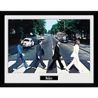GB Eye poster in lijst The Beatles Abbey Road 30 x 40 cm