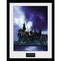 GB Eye poster in lijst Harry Potter Hogwarts painting 30 x 40 cm