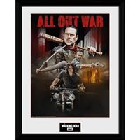 GB Eye poster in lijst The Walking Dead seizoen 8 30 x 40 cm