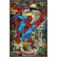 Spiderman retro poster 61 x 91,5 cm