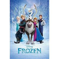 Disney Poster Frozen cast 61 x 91,5 cm