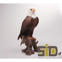 Eigen merk Vogel adelaar polystone 15x14x36 cm