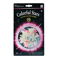 University Games Glow in the Dark sterren: Colorful Stars