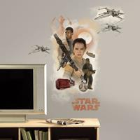 Muursticker Star Wars VII Roommates: Hero 45x101 cm