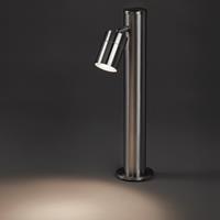 qazqa Buitenlamp staal 45 cm verstelbaar - Solo