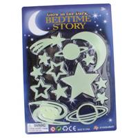 Jonotoys glow in the dark sterren en planeten