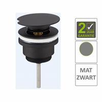 Boss&wessing AQS Draaiwaste Luxe 5/4 Laag Mat Zwart