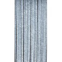 express Kattenstaart gordijn grijs 90x200cm