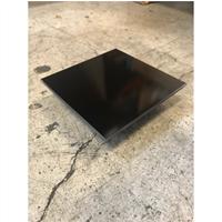 Sunshower set ventilatieroosters 10x10 rond zwart