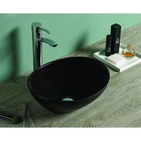 Lambinidesigns Viesta waskom mat zwart 40x33x14cm