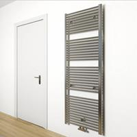 Sanigoods Inola handdoek radiator 170x60cm chroom 750Watt