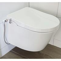galva fresh toiletpot met douche wc en bidet zitting met spoelrand