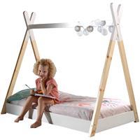 vipack Bed Tipi - wit/naturel - 70x140 cm