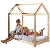 vipack bed Cabane - naturel - 70x140 cm