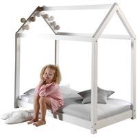 vipack bed Cabane - wit - 70x140 cm