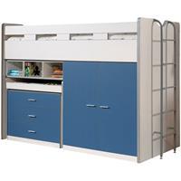 vipack halfhoogslaper Bonny - blauw - 227x150x94,6 cm