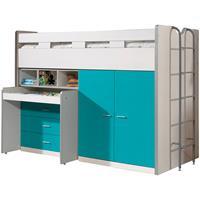 vipack halfhoogslaper Bonny - turquoise - 227x150x94,6 cm