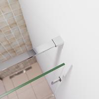 saniclear Redro muur bevestiging chroom
