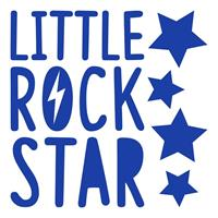 muursticker Little Rock Star junior 2 stickervellen