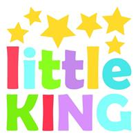 muursticker Little King jongens 2 stickervellen