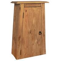 Badkamer wandkast 42x23x70 cm gerecycled massief grenenhout