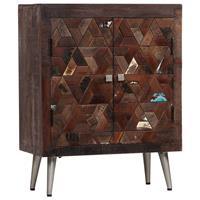 Dressoir 60x30x76 cm massief gerecycled hout