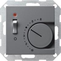 Gira Systeem 55 Ruimtethermostaat H10xB5cm Antraciet 039328