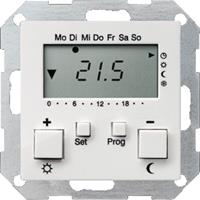 Gira 237003 - Room clock thermostat 10...40°C 237003
