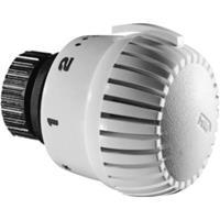 Honeywell Professional radiatorthermostaatknop recht wit aansluiting op radiatorafsluiter M30x1.5 met diefstalbeveiliging