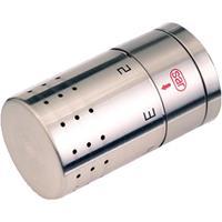 Vsh radiatorthermostaatknop recht roestvaststaal (RVS) instelbereik 5 - 27.5°C vorstbeveiligd