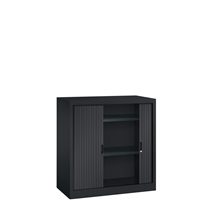 Roldeurkast - H.105 x B.100 cm - Inclusief 2 legborden