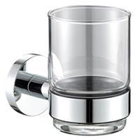 Bekerhouder Vigo met Glas Chroom