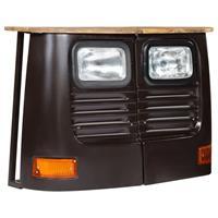 Dressoir vrachtwagen massief mangohout donkergrijs