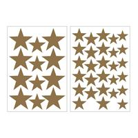 Art for the Home muurstickers Sterren - goud - 17,5x25 cm