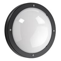 Sglighting SG Primo LED plafondlamp E27 mat zwart rond IP65 IK10 614570