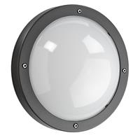 Sglighting SG Primo LED plafondlamp E27 grafiet rond IP65 IK10 623570