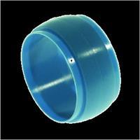 Vsh SUPER BLUE S1282 knelring kunststof blauw uitwendige buisdiameter 35mm