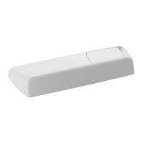 Geberit AP123 toebehoren voor spoelreservoir type toebehoren deksel 1 wit incl. bediening