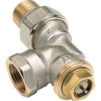 Vsh R807 radiatorafsluiter uitvoering staartstuk/binnendraad haaks verkeerd thermostatisch voorbereid
