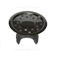 Debeer De Beer putrooster met ronde gaten, RVS, diam 115mm, rond, inclusief rand