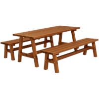 "Trendyard Houten Picknickset ""Country"" Teak"