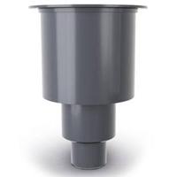 Easydrain Easy Drain sifonhuis met onderuitloop, waterslot 50mm