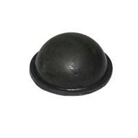 Debeer drukknopbal 57 mm. rubber