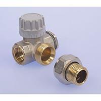 Comap R806 radiatorafsluiter uitvoering staartstuk/binnendraad dubbelhaaks links/rechts thermostatisch voorbereid